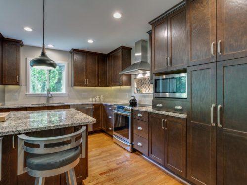 Leesburg custom kitchen renovation home addition