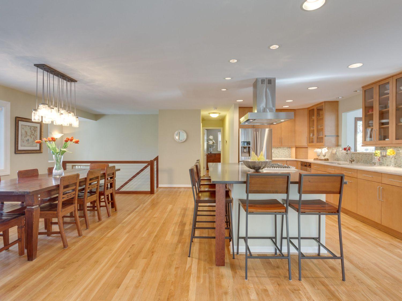 McLean kitchen dining remodel upgrade