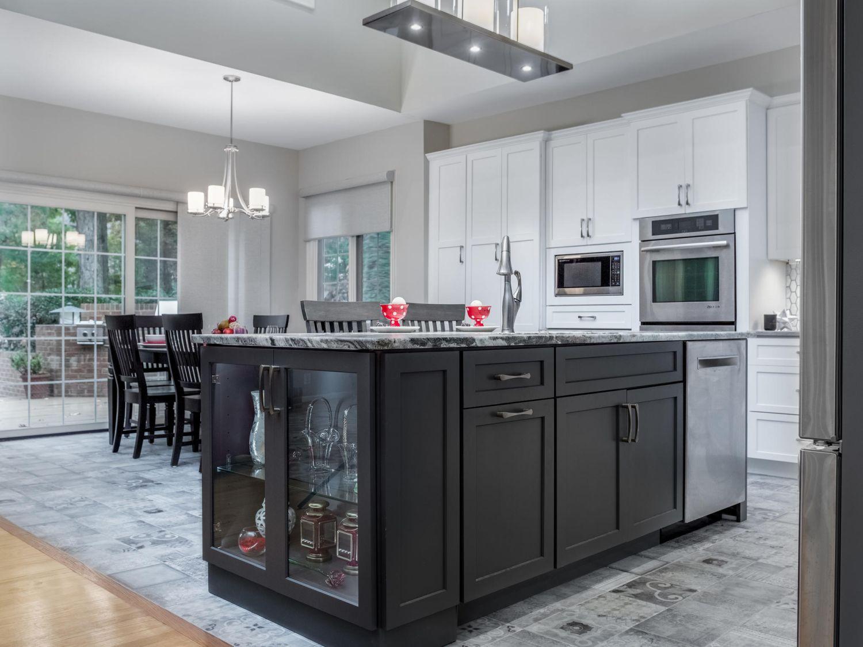Ashburn modern design custom kitchen island