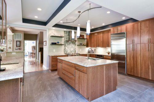 Chantilly cherry kitchen renovation