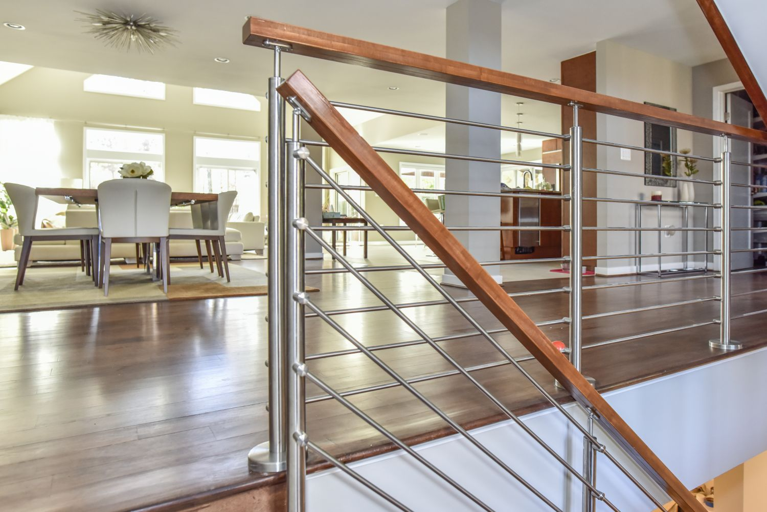 Great Falls custom renovation staircase