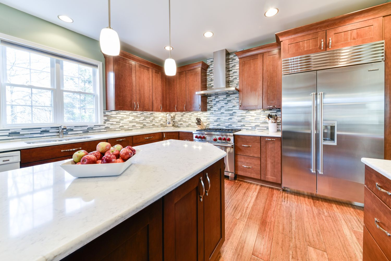 South Riding Wolf refrigerator kitchen