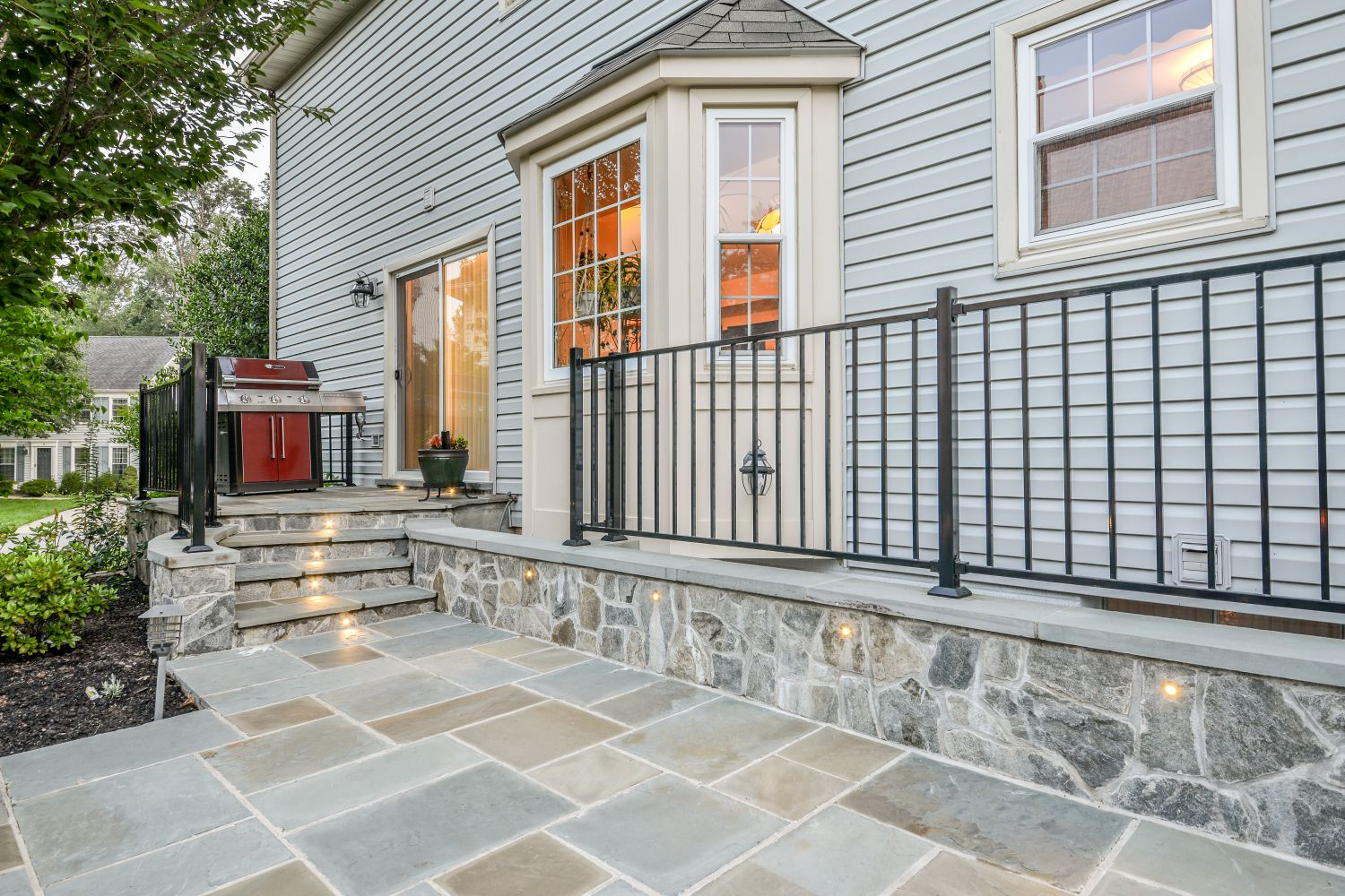 sterling stone patio outdoor space addition