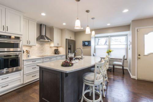 kitchen upgrade eating nook remodel